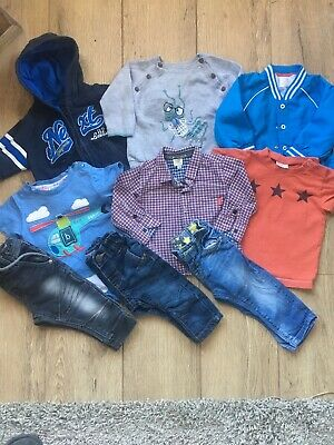 Baby Boys Next & Ted Baker Clothes Bundle  6-9 Months