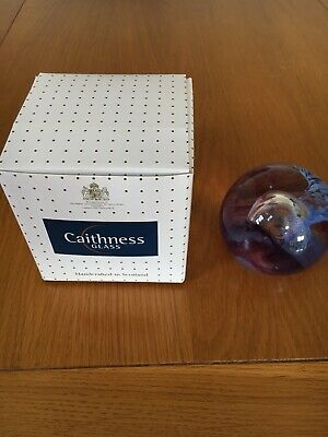 Caithness Glass Paperweight Caldron Sable