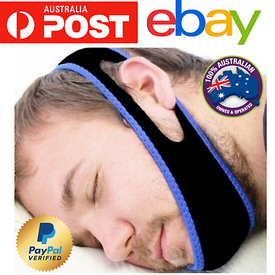 Stop snoring chin jaw strap anti snore sleep apnea belt device solutions