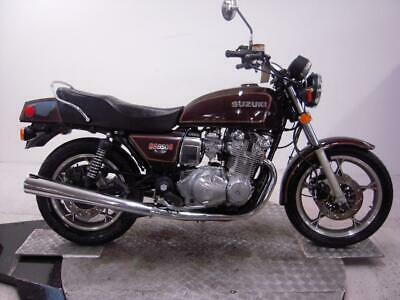 1981 Suzuki GS850G Unregistered US Import Barn Find Classic Restoration Project