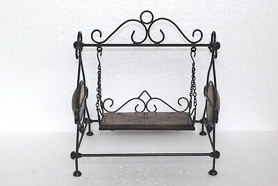 New Wooden Iron Handcrafted Swing Jhula Home Decor U 27 126 85