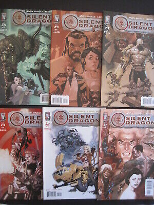 SILENT DRAGON : COMPLETE 6 issue DC/ WS 2005 series by ANDY DIGGLE & LEINIL YU