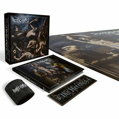 Rotting Christ - The Heretics Ltd. Boxset Digi CD+Patch NEU/OVP