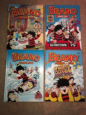 Variety Beano and Dandy Annuals 2014-2016
