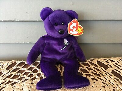 6c4c8cc18ac 1997 TY Beanie Baby Collection Princess Diana Handmade in China P.E. Pellets