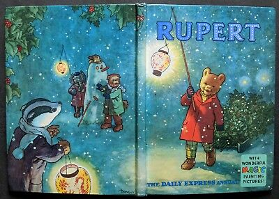 Rupert Annual 1960...original..not Inscribed Or Clipped...magic-Paints Untouched