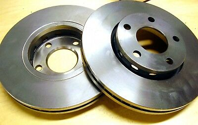 2 - Audi Brake Disc Rotors; 447615301B; Zimmerman; 1980-1991; 100 200 Quattro