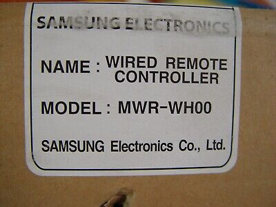 NEW Samsung Wired Remote Controller MWR-WH00 Accessory Kit