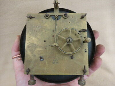 Antique Vienna Clock Movement For Spares