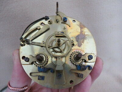 Antique Japy Fils Striking Clock Movement For Spares Or Repair