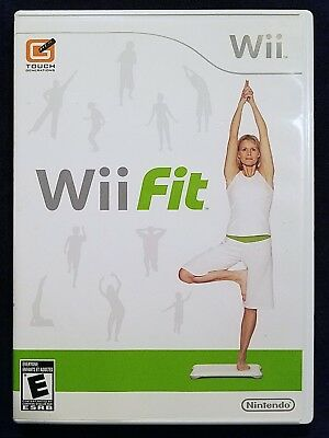 Wii Fit (Nintendo Wii, 2008) Complete & Clean, FREE SHIPPING!