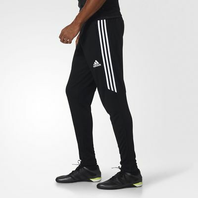 Adidas Tiro 17 Men's Pants NEW Size SMALL Soccer Black / White / White BS3693