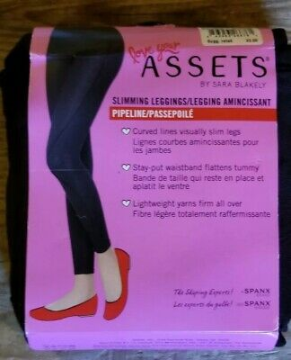 83b7e1103bdf7 Love Your Assets By Sara Blakely Slimming Control Pants Cropped Size Xl
