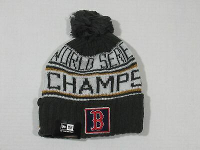 e49f1a37cdc9a New 2018 World Series Champions Boston Red Sox Locker Room Beanie Pom Knit  Hat