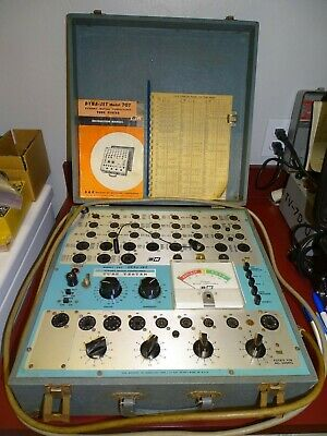 B&K Model 707 Dyna-Jet Dynamic Mutual Conductance Tube Tester, Working
