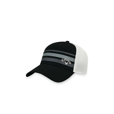 9f594595bd9 CALLAWAY STRIPE MESH Fitted Cap Golf Hat 2017 New - Choose Color ...