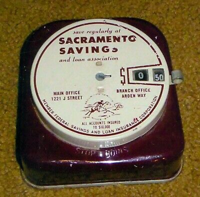 March 31 1942 Sacramento Savings & Loan Assoc, Sacramento, Calif Mechanical Bank