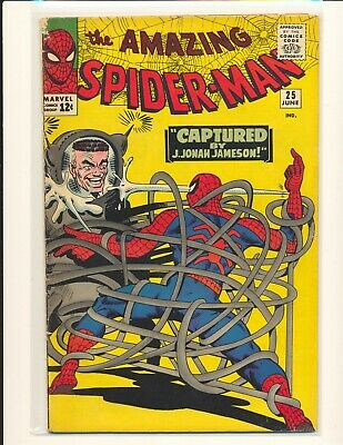 Amazing Spider-Man # 25 - 1st Mary Jane cameo VG+ Cond.