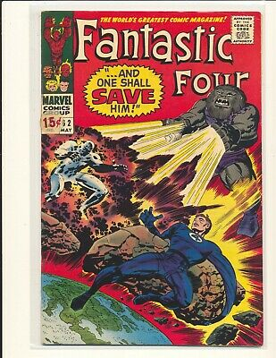 Fantastic Four # 62 - 1st Blastaar VG+ Cond. price sticker on cover