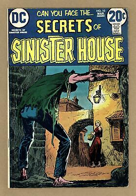Secrets of Sinister House Mark Jewelers #10MJ 1973 VG 4.0
