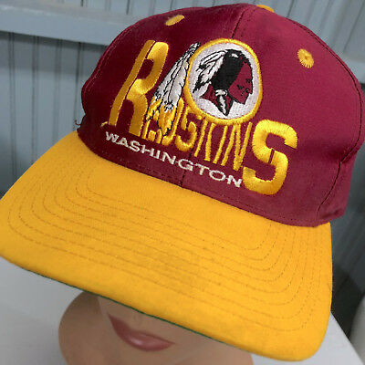 NOS VTG AUTHENTIC NFL Washington REDSKINS SnapBack BASEBALL Cap Hat ... 77a233e5d