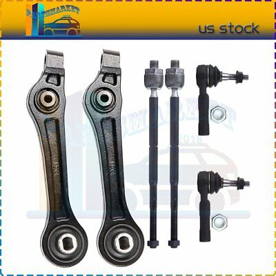 Pair Set 2 Outer Moog Steering Tie Rod Ends For Chrysler 300 Dodge Charger RWD