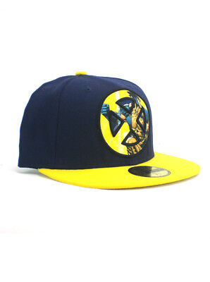 5bbc9770d09 NEW ERA CYCLOPS Zapt! 59fifty Custom Fitted Hat Size 7 3 8 X-Men ...