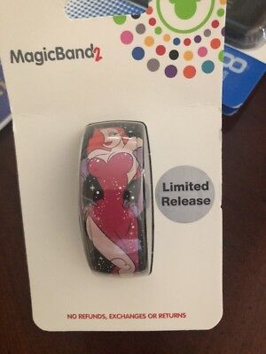Disney parks Jessica Rabbit Magic Band 2 NEW For 2018 Limited Release