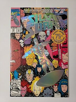 The Silver Surfer #75 (Dec 1992, Marvel) 30th Marvel Anniversary edition NM