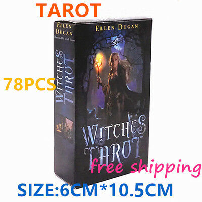 new WITCHES TAROT Card 78 pieces of ELLEN DUGAN TCG Cards High quality