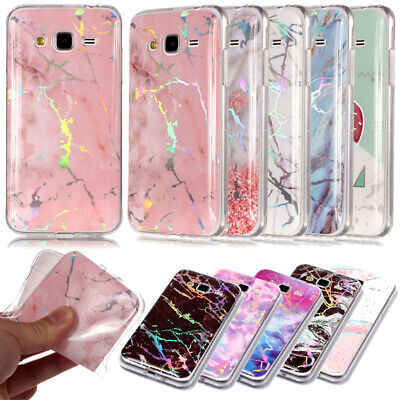 Marble Iridescent Holographic Holo Phone Protective Case For J6 J4 2018/J7 2016