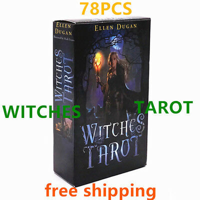 WITCHES TAROT Cards NEW 78 pieces of ELLEN DUGAN TCG Card High quality