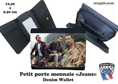 porte monnaie jeans denim alex o'loughlin  #101 wallet