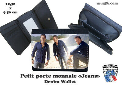 porte monnaie jeans denim alex o'loughlin  #103 wallet