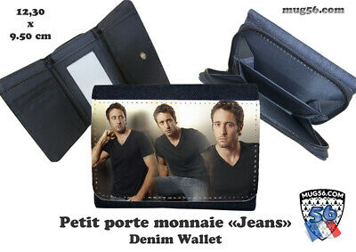 porte monnaie jeans denim alex o'loughlin  #107 wallet