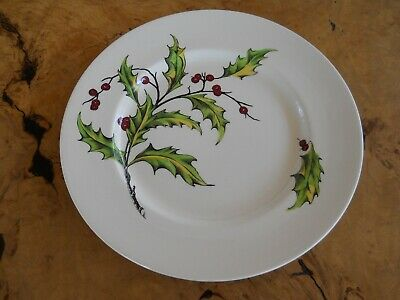 Evergreen Royal Staffordshire Dinner Plate by Clarice Cliff