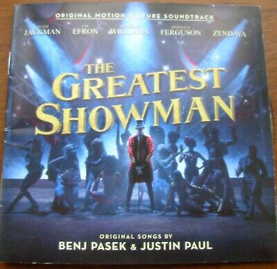The Greatest Showman CD. Original Motion Picture Soundtrack.