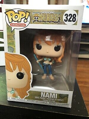 Nami Vinyl Figure Item #23194 Shonen Jump One Piece Funko Pop Animation
