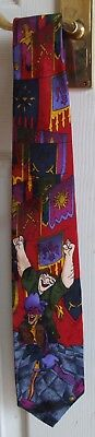Walt Disney 100% Silk Tie - The Hunchback Of Notre Dame