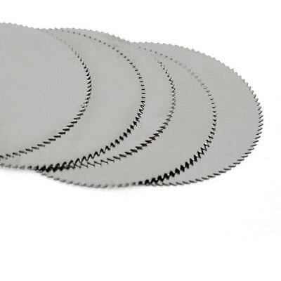 5Pcs 32mm Stainless Steel Saw Slice Metal Cutting Disc Rotary ToolsS!!