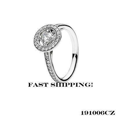 1aa3703e0 AUTHENTIC PANDORA VINTAGE Allure, Clear CZ Ring 191006CZ 56mm (7.5 ...