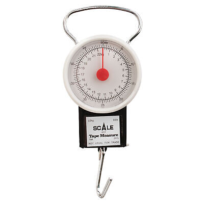 Eagle Claw 50 Lb Dial Scale W Tape Measure 1pc