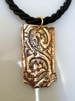 Extremely Rare, A Detector Find & Polished, 900-1100 A.d Viking Amulet..