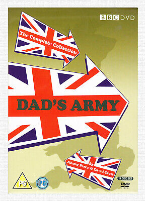 DAD'S ARMY - THE COMPLETE COLLECTION - 14xDVD BOX SET WITH CHRISTMAS SPECIALS