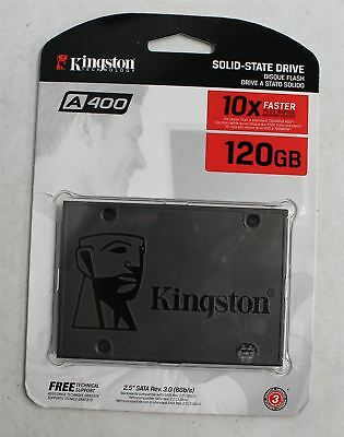 "NEW KINGSTON SA400S37/120G A400 2.5"" 120GB SATA III 6Gb/s SSD Solid State Drive"