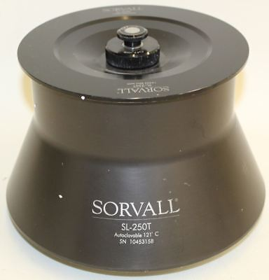 SORVALL SL-250T Rotor Auto Clavable 121 Degrees C 14,500 RPM For T21 Centrifuge