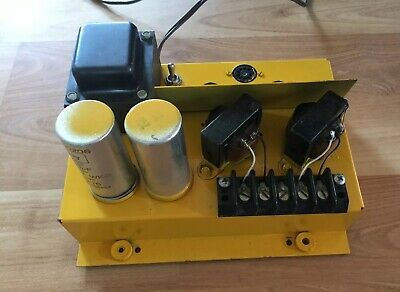 Vintage Tube Amplifier Untested
