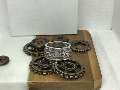 Handmade Ring From 2018 Cameroon Imperial Dragon Coin