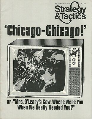 Strategy & Tactics S&T #21 Chicago, Chicago Flight of the Goeben  Uncut 1st  FS