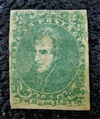 nystamps US CSA Confederate Stamp # 3 Mint $900